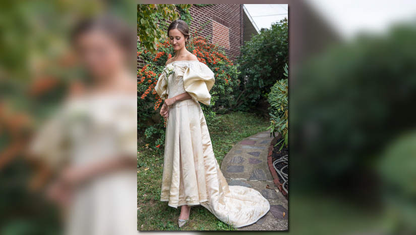 Tradition: 11th Bride to wear this 120 Year-Old Heirloom