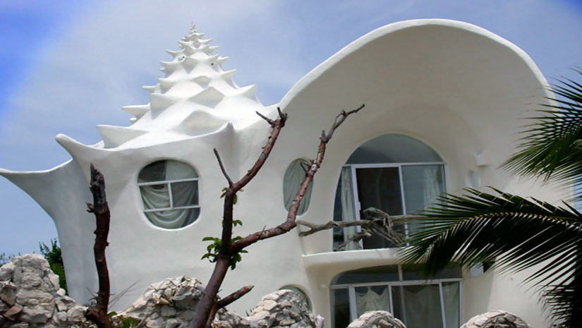 Crazy buildings funbuzztime - Difference shell house turnkey ...