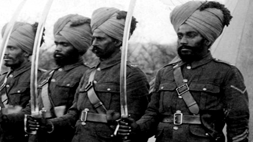 Image result for indian troop ww1 pic