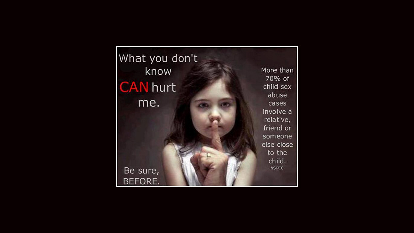 Child Sexual Abuse: Look out for Signs in your Child