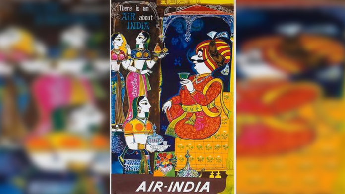 Vintage Air India Posters | Travel Back in Time