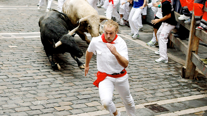 how to get to the running of the bulls