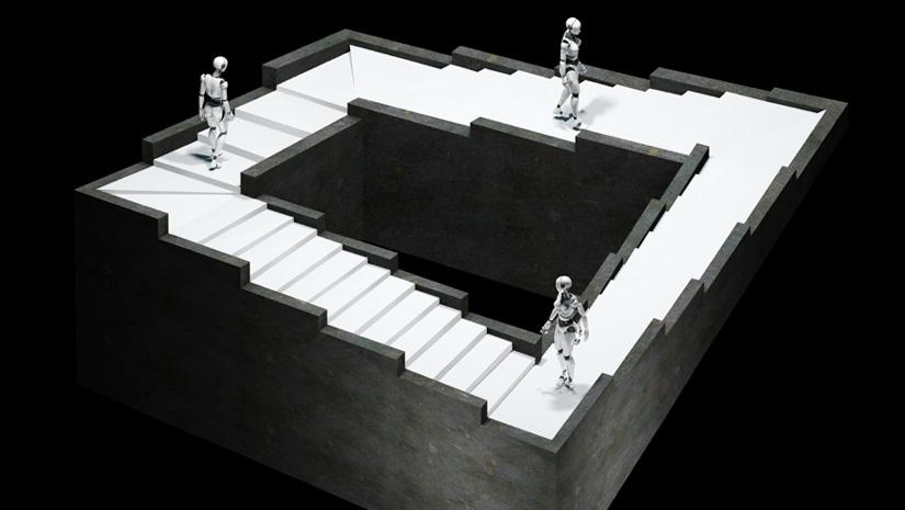 Fact Behind Escherian Stairwell From Rit Funbuzztime Com