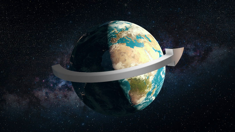 Earth Is Slowing Down Its Rotation Speed