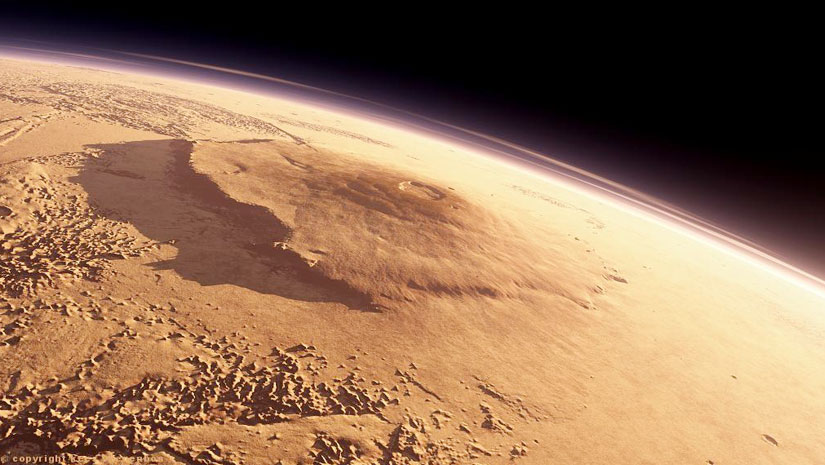 Mars Is Having The Biggest Volcano of Our Solar System