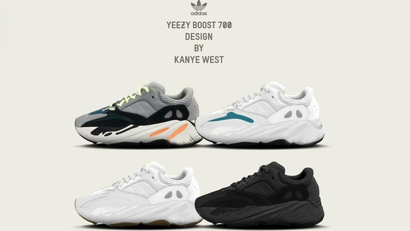 huge selection of 392cd 063f3 Kanye West's Adidas Yeezy Wave Runner 700 Now Available ...