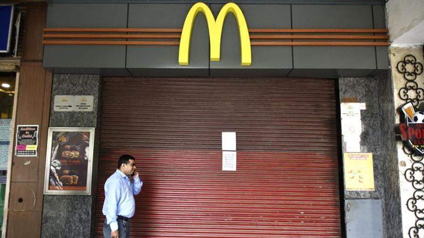 joint venture of mcdonalds in india