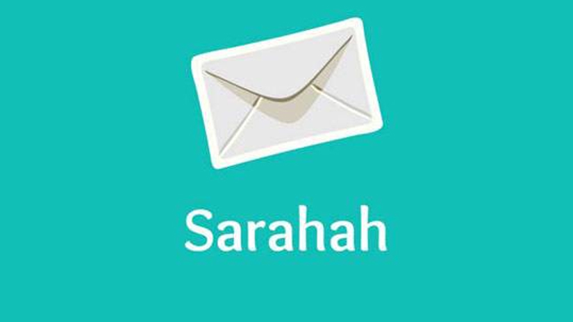 how to delete sarahah account from app