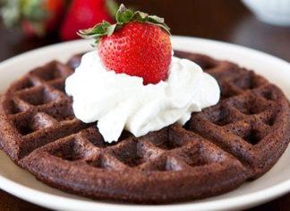 Waffle-Brownie