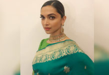 Deepika-Padukone-Looks-Magnificent-In-Green-Sari