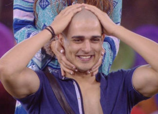 Priyank-Sharma-Shaves-Head