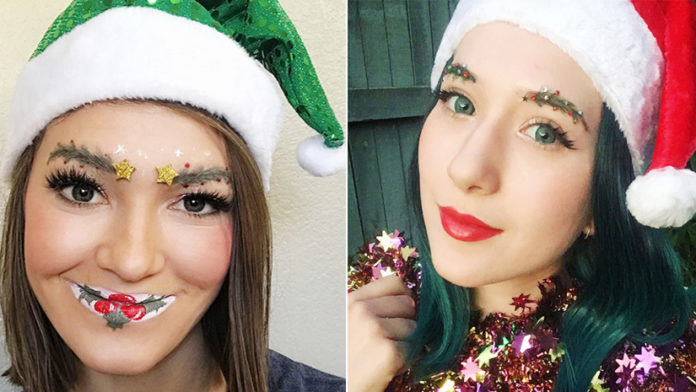 Christmas Themed Beauty Makeover Is The Latest Trend!
