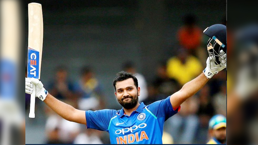 Rohit Sharma Makes A Double Century The Third Time In ODI ...
