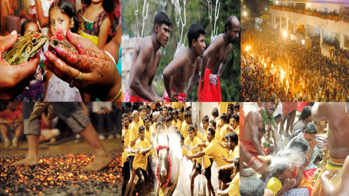 Some Bizzare Rituals and festivals from India