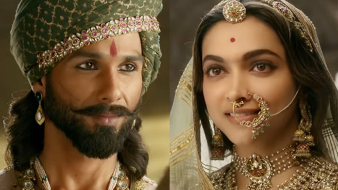 Padmaavat's fourth Day Collections are Out. it's Had A Power-Packed initial Weekend